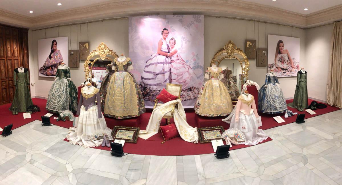 Exposición Trajes Reinas Falleras de Burriana 2020