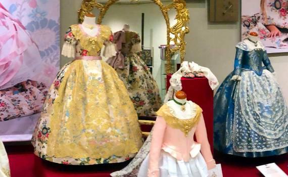 Vestidos Oficiales Reina Fallera Infantil Burriana