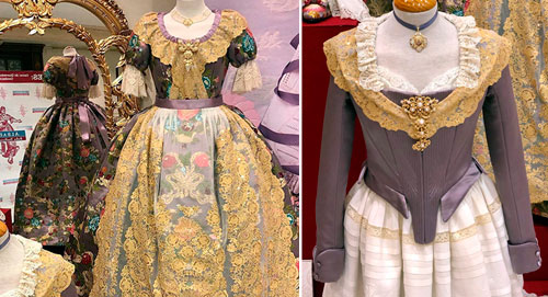 Vestidos oficiales Reina Fallera